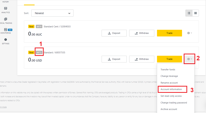 Como baixar e instalar MetaTrader 4 (MT4), MetaTrader 5 (MT5) para laptop / PC (Windows, MacOS, Linux) no Exness